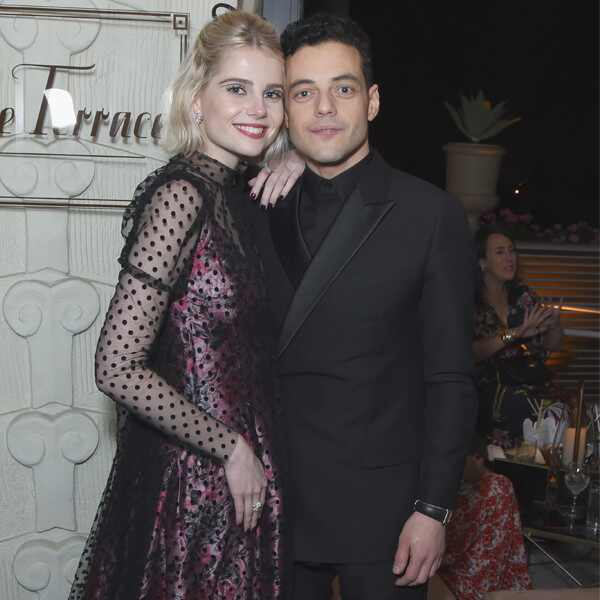 Lucy Boynton, Rami Malek , 2019 SAG Awards, After Party